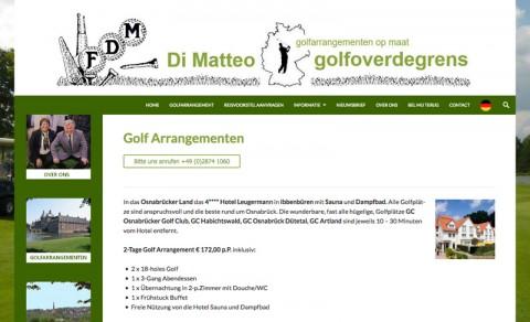 Für Golfer aus der Region Düsseldorf: Golfreisen mit Francesco di Matteo in Isselburg