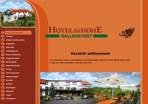 Spannende Motorradtouren in Sachsen-Anhalt in Ballenstedt