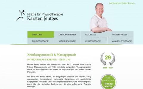 Elektrotherapie bei Karsten Jentges in Krefeld in Krefeld