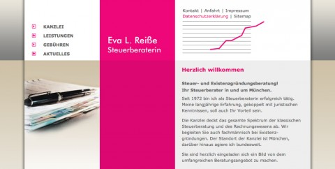 Steuerberatung in München: Eva Luise Reiße Steuerberaterin  in München