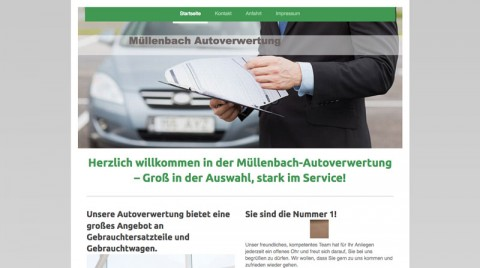Autoteile am Nürburgring bei Müllenbach Autoverwertung in Müllenbach