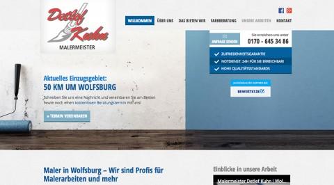 Zuverlässiger Malerbetrieb in Wolfsburg: Malermeister Detlef Kuhn sorgt für farbige Aussichten in Wolfsburg