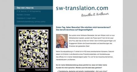 IT-Fachübersetzungen – Roswitha R. Kortheuer in Langenfeld in Langenfeld