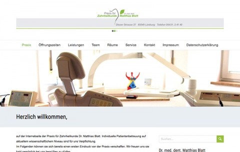Praxis für Zahnheilkunde – Dr. med. dent. Matthias Blatt in Limburg in Limburg
