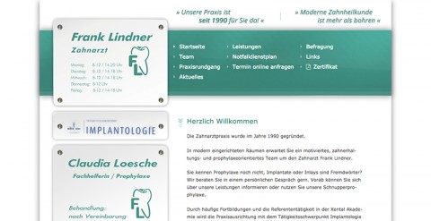 Implantologie in Nordhausen: Zahnarzt Frank Lindner in Nordhausen