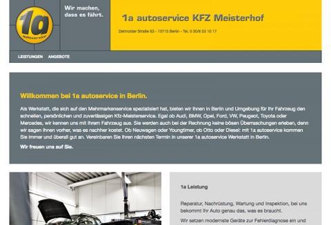 Professionelle und zuverlässige Autoreparatur in Berlin: KFZ Meisterhof Detmolder 63 GmbH in Berlin