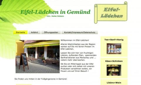 Feinkost bei Schleiden: Das Eifel-Lädchen in Gemünd in Gemünd