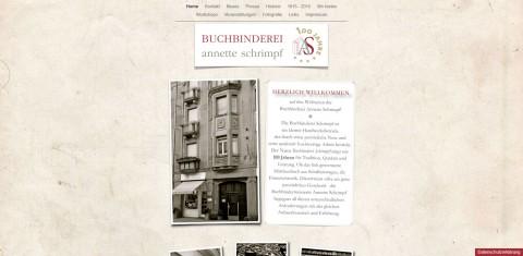 Buchbinderei Annette Schrimpf in Mannheim – Gästebuch für die Hochzeit in Mannheim