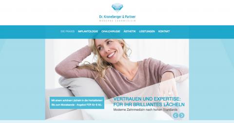 Gesunde und schöne Zähne – Zahnarzt Dr. Kroneberger in Offenbach in Offenbach
