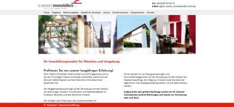 Immobilienservice in München: Die E. Sievers Immobilien GmbH in München