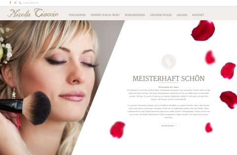 Brautfrisuren in Ettlingen: CMC Friseur Nicola Ciaccio in Ettlingen