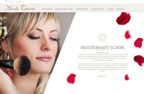 Brautfrisuren im Raum Karlsruhe: CMC Friseur Nicola Ciaccio in Ettlingen