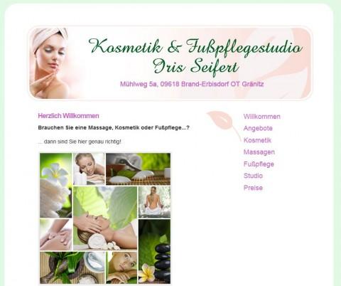 Kosmetik & Fußpflegestudio Iris Seifert in Brand-Erbisdorf – das Kosmetikstudio zum Wohlfühlen in Brand-Erbisdorf