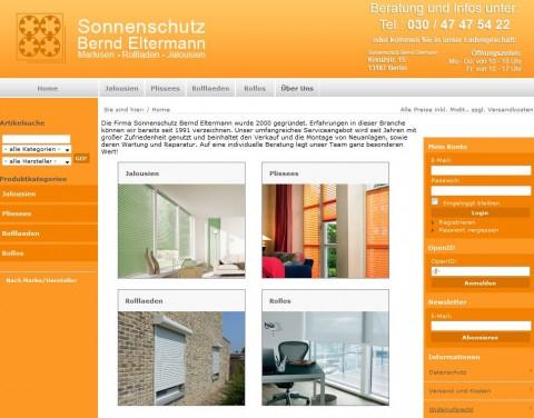 Sonnenschutz Bernd Eltermann, Fachbetrieb für Rollläden in Berlin in Berlin