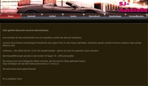 SJ-Autoteile in Menden in Menden (Sauerland)