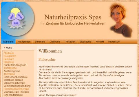 Naturheilkunde in Bottrop: Naturheilpraxis Spas in Bottrop