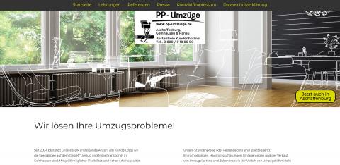 Ihr starker Partner für Umzüge in Hanau: PP – Umzüge in Hanau