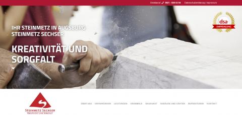 Ihr Steinmetzbetrieb Sechser in Augsburg in Augsburg