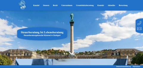 Der Steuerberater für Unternehmensgründer: Steuerberatungskanzlei Kümmel in Stuttgart