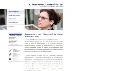Ausgezeichnete Steuerberatungen in Münster – Steuerberaterin Kirsten Rosendahl-Lemm in Münster