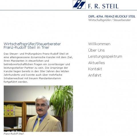 Steuerberater Dipl.-Kfm. Franz-Rudolf Steil in Trier in Trier