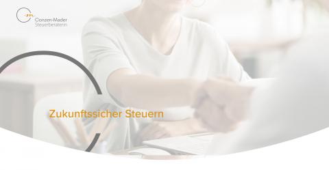 Ihr starker Partner im Steuerrecht - Steuerberaterin Conzen-Mader in Mülheim an der Ruhr in Mülheim/Ruhr