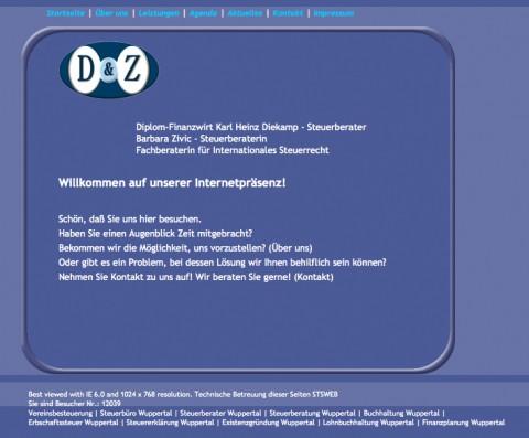 Steuerberatung Karl Heinz Diekamp & Barbara Zivic in Wuppertal in Wuppertal