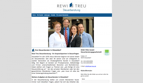 REWI-TREU Steuerberatungsgesellschaft in Düsseldorf in Düsseldorf
