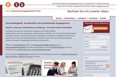 Steuerberatung in Schweinfurt: ASG Aktiva Steuerberatungsgesellschaft mbH in Schweinfurt