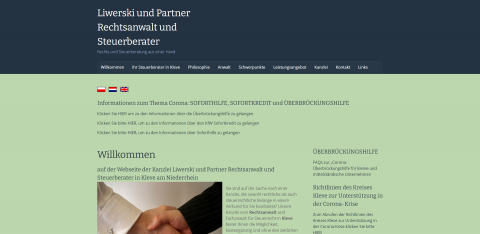 Ihre zuverlässige Steuerberatung in Kleve: Liwerski und Partner  in Kleve