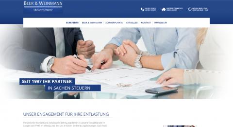 Finanz- und Lohnbuchhaltung – Steuerbüro Beer & Weinmann in Langen