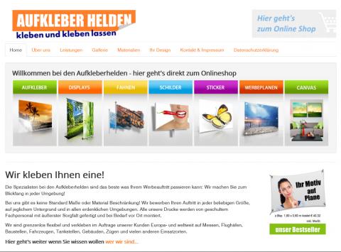 Effektiv werben mit den Stickern der Aufkleberhelden in Groß Umstadt