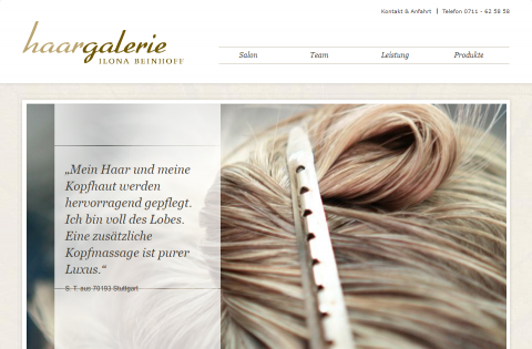 Haargalerie in Stuttgart: Mehr als ein Friseurbesuch  in Stuttgart