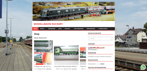 Ihre Suche hat ein Ende: Modelleisenbahnen von Modellbahn Ruckert in Buchloe