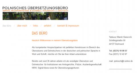 Polnisch Dolmetscher und Übersetzer in Dortmund in Dortmund