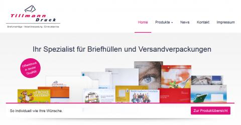 Kompetente Druckerei: Tillmann Druck GmbH in Erkelenz im Raum Düsseldorf in Erkelenz