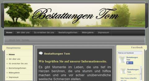 Bestattungen Tom: Bestattungsinstitut in Weingarten in Stutensee