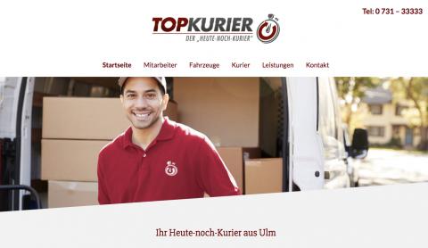 Top-Kurier GmbH in Ulm in Ulm
