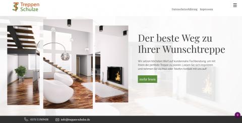 Professioneller Treppenbau im Umfeld von München in Aresing