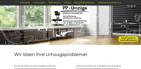 Ihr Partner für Umzüge in Bayern: PP-Umzüge in Gelnhausen