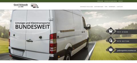 Umzüge & Kleintransporte Schmidt – Ihr zuverlässiger Umzugsdienst in Potsdam