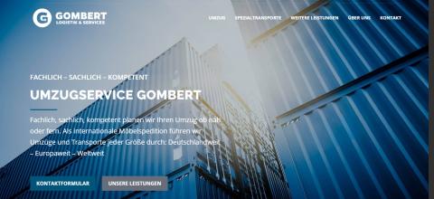 Ihr Partner für Umzüge in Duisburg: Gombert Logistik und Services GmbH in Duisburg