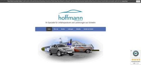 Fahrzeuglackierer nahe Wuppertal – Hoffmann Karosserie & Lack in Schwelm  in Schwelm