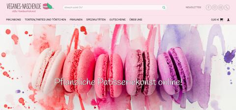 Vegane Macarons online bestellen bei veganes-naschen.de in Solingen