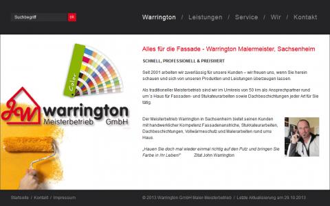 Warrington GmbH, Malermeister in Sachsenheim in Sachsenheim