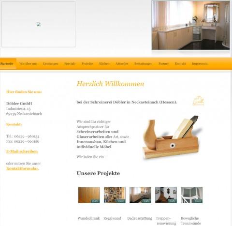 Schreiner in Neckarsteinach: Döbler GmbH in Neckarsteinach