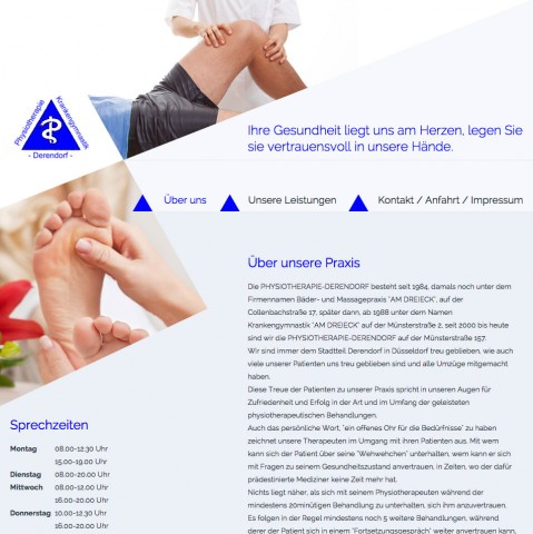 Physiotherapie in Düsseldorf: Physiotherapie Derendorf Frau Stavinski in Düsseldorf