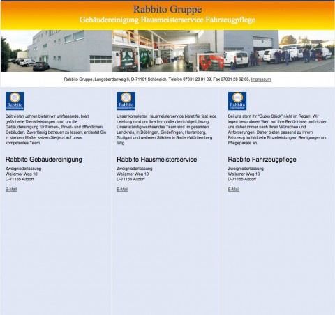 Hausmeisterservice in Sindelfingen: Rabbito Hausmeister- u. Gebäudeservice in Schönaich