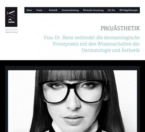 Dermatologie in München: Pro Ästhetik Dr. med. Angelika Rietz in München