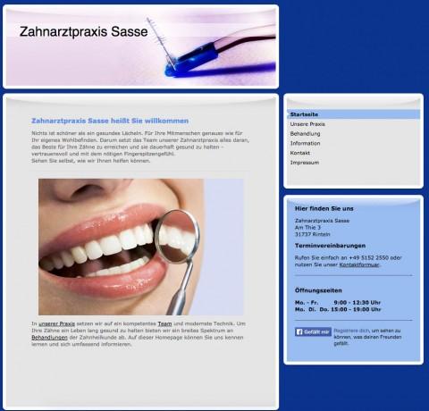 Zahnarztpraxis in Rinteln: Zahnarzt Friedrich-Wilhelm Sasse in Rinteln